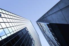 Gratte-ciel métallique Image stock