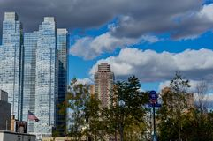 Gratte-ciel Manhattan de New York Photo libre de droits