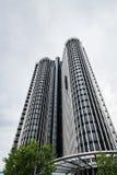 Gratte-ciel moderne dans AZCA Madrid photographie stock