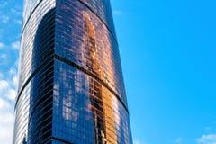 Gratte-ciel moderne dans la Moscou-ville, Russie photo stock
