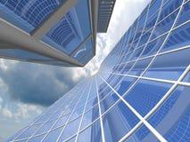 Gratte-ciel modernes Photo libre de droits