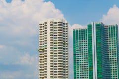 Gratte-ciel modernes communs, gratte-ciel, architecture, Bu Image stock