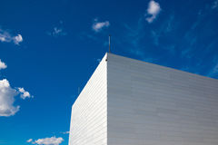 Gratte-ciel modernes communs d'affaires, gratte-ciel Images libres de droits