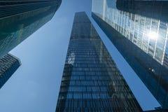 Gratte-ciel modernes d'affaires, gratte-ciel, architecture r Photos stock