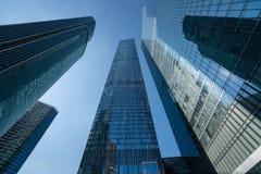 Gratte-ciel modernes d'affaires, gratte-ciel, architecture r Photographie stock libre de droits