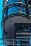 Gratte-ciel modernes d'affaires, hauts bâtiments en verre, archit moderne Images stock