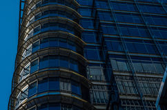 Gratte-ciel modernes d'affaires, hauts bâtiments en verre, archit moderne Photos stock