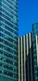 Gratte-ciel modernes d'affaires, hauts bâtiments en verre, archit moderne Image stock