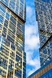 Gratte-ciel modernes dans la Moscou-ville, Russie photos stock