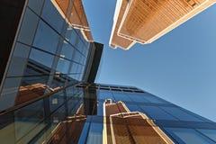 Gratte-ciel modernes dans le district financier photo libre de droits