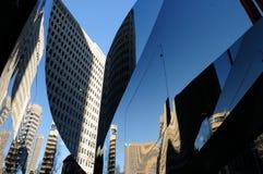 Gratte-ciel Montréal du centre image libre de droits