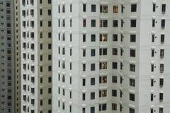 Gratte-ciel résidentiels de Hong Kong Island Photo stock