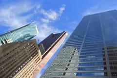 Gratte-ciel à Toronto, Canada Images libres de droits