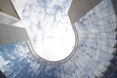 Gratte-ciel vitreux Photo stock