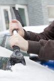Grattoir de glace Images libres de droits