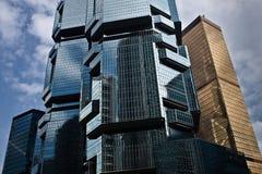 Grattoirs modernes de ciel Photo libre de droits