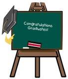 gratulacje dla absolwentów Obrazy Stock