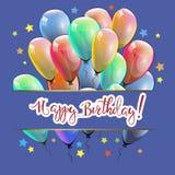 Gratulacje na wszystkiego najlepszego z okazji urodzin Zdjęcie Royalty Free