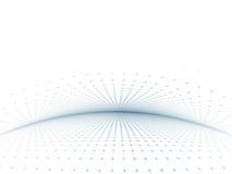 Grau-Blaue Rasterfeld-Schablone Stockbild