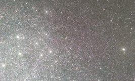 Grau funkeln strukturierter Hintergrund, helles schönes glänzendes graues Funkeln lizenzfreie abbildung