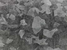 Grau galvanazed Stahlbeschaffenheitsmakro lizenzfreies stockbild