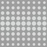 Grau punktiert Hintergrund- oder Vektormuster stock abbildung