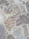 Grau und Sonnenbräune maserten Steinweg für Hintergrund Lizenzfreies Stockbild