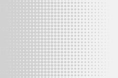Grau-weiße moderne helle Halbtonkunst Steigung unscharfes Muster mit Rastereffekt lizenzfreie abbildung