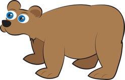 Graubär-Bär lizenzfreie abbildung