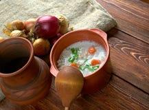 Graubunden Barley Soup Royalty Free Stock Photography