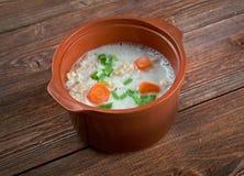 Graubunden Barley Soup Royalty Free Stock Photo