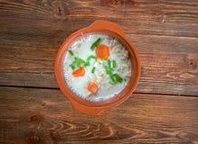 Graubunden Barley Soup Stock Image