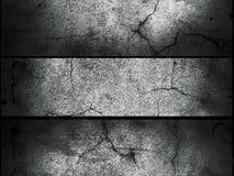 graue abstrakte alte Wandbeschaffenheitsfahne Lizenzfreies Stockbild