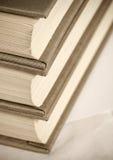 Graue Bücher Stockfoto