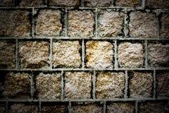 Graue Backsteinmauer Lizenzfreie Stockbilder