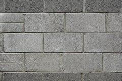 Graue Backsteinmauer lizenzfreies stockfoto