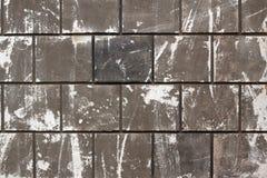 Graue Block-Wand Stockfoto