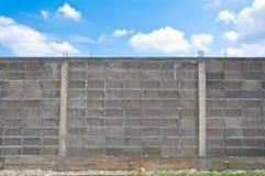 Graue Blockwand Lizenzfreie Stockbilder