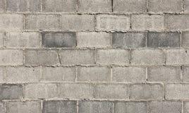 Graue Blockwandbeschaffenheit Lizenzfreies Stockfoto