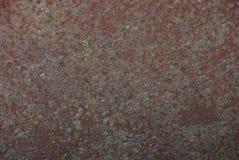 Graue braune Beschaffenheit eines Stückes rostigen Metalls Stockfotos
