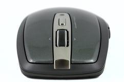 Graue drahtlose Maus der Nahaufnahme Lizenzfreie Stockfotos