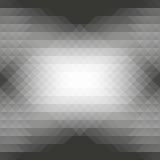 Graue Dreiecke und nahtloses abstraktes geometrisches Muster der Raute Stockbilder