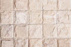 Graue Farbe des Backsteinmauermusters des modernen Artdesigns dekorativ Stockfoto