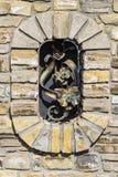 Graue Farbe des Musters des modernen Artdesigns dekorativ Lizenzfreies Stockfoto