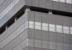 Graue Fassade Lizenzfreie Stockfotos