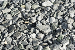 Graue Felsen im Abendlicht Lizenzfreies Stockfoto