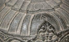 Graue flache Steine und Kies Lizenzfreies Stockbild