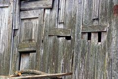 Graue hölzerne Beschaffenheit von alten Hallenbrettern Lizenzfreies Stockbild