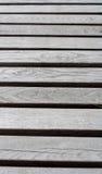 Graue hölzerne Planken Hintergrund, Beschaffenheit Lizenzfreies Stockbild