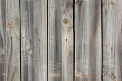Graue hölzerne Wand Stockbild